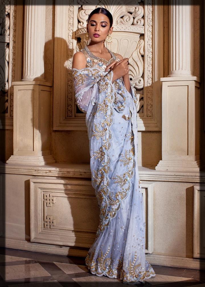 Tena Durrani Bridal saree Collection