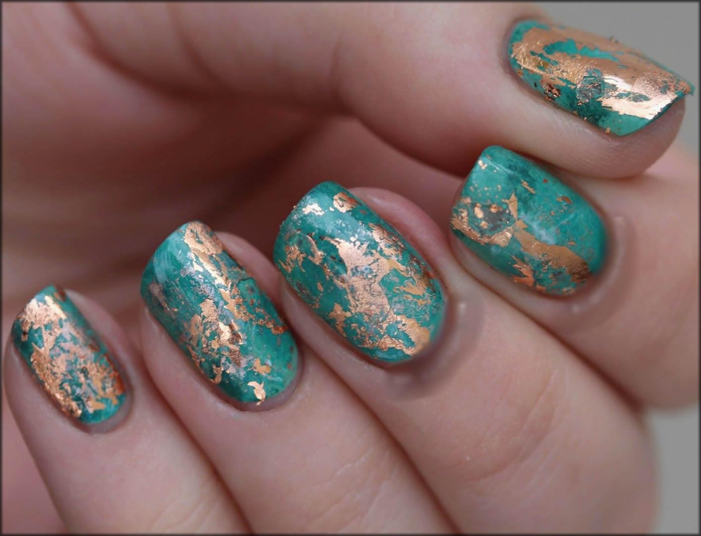 Texture Nail Art