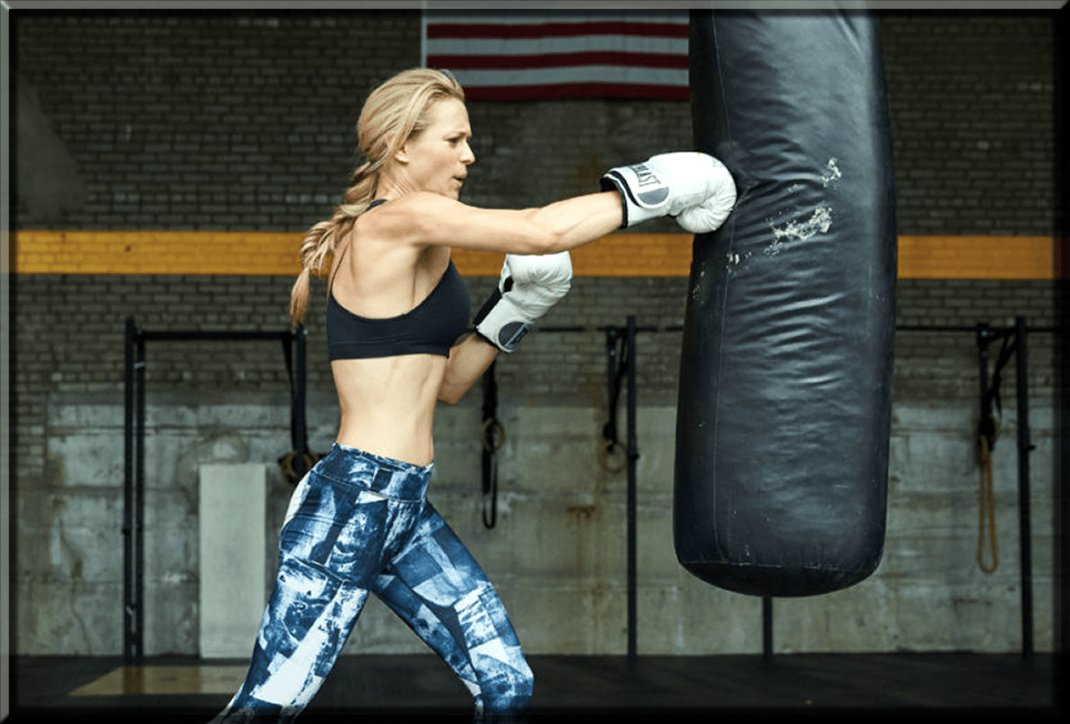 The Weighted Punch to reduce arm fat