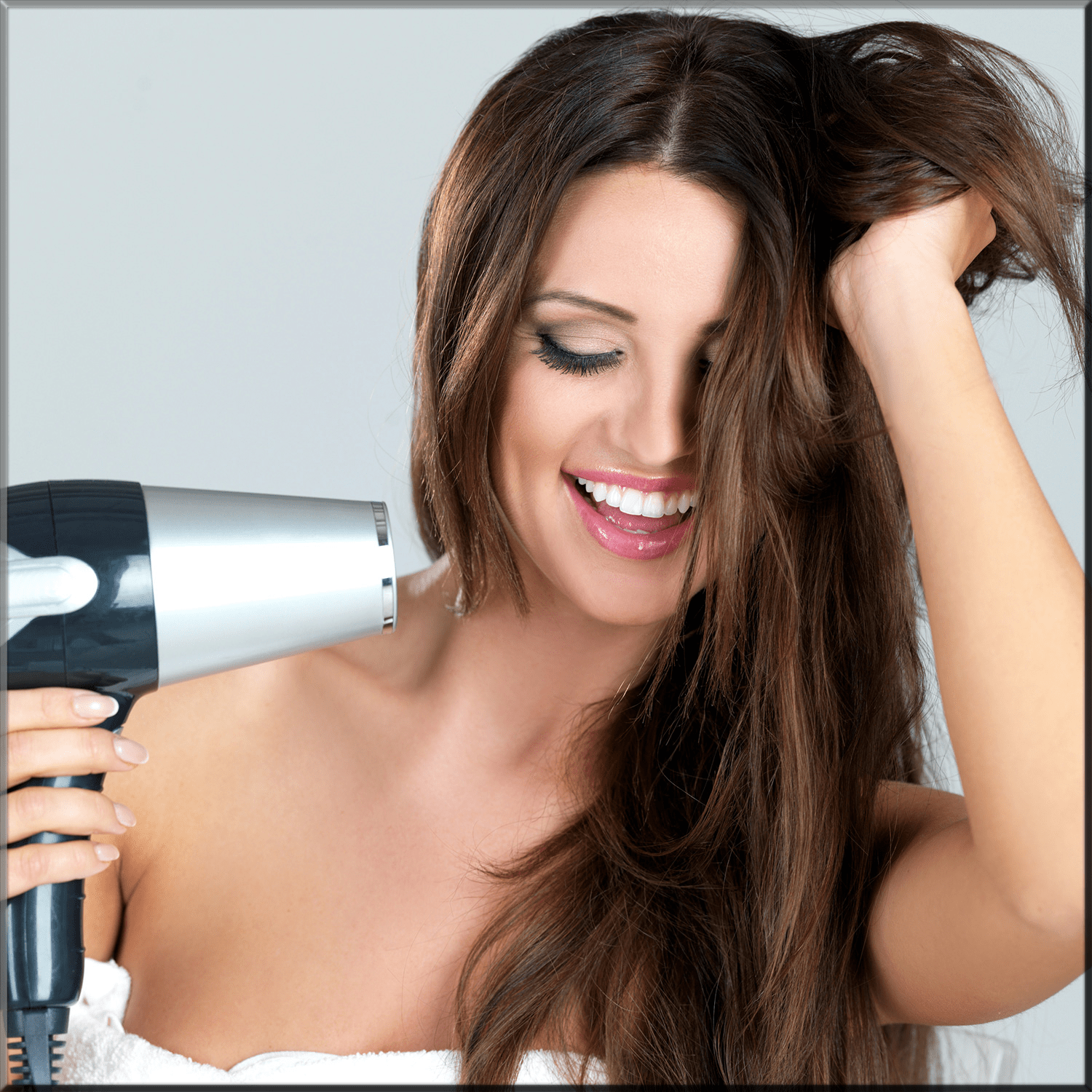 add heat to your hairs