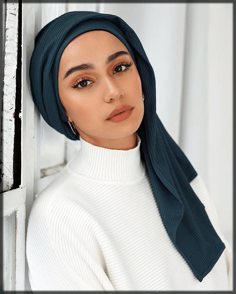 airy turkish hijjab style