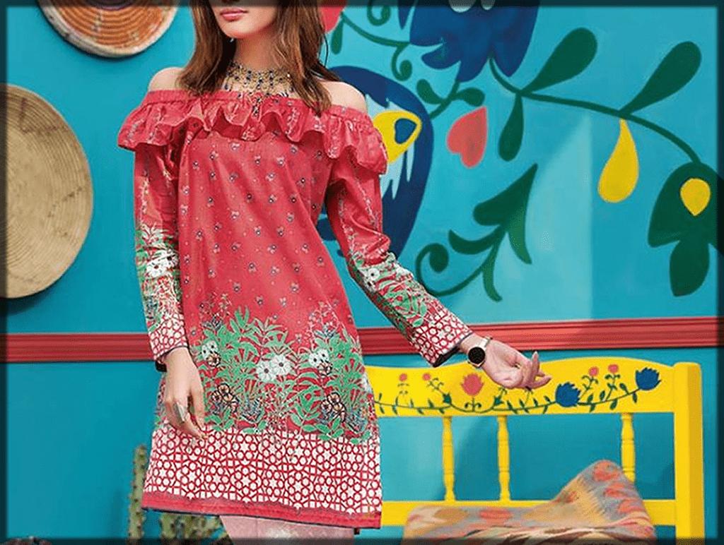 alluring Lawn Dresses Stitching Designs