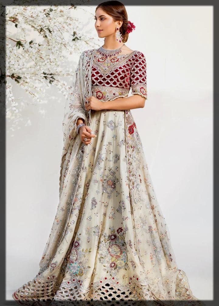 beautiful lehenga choli for brides