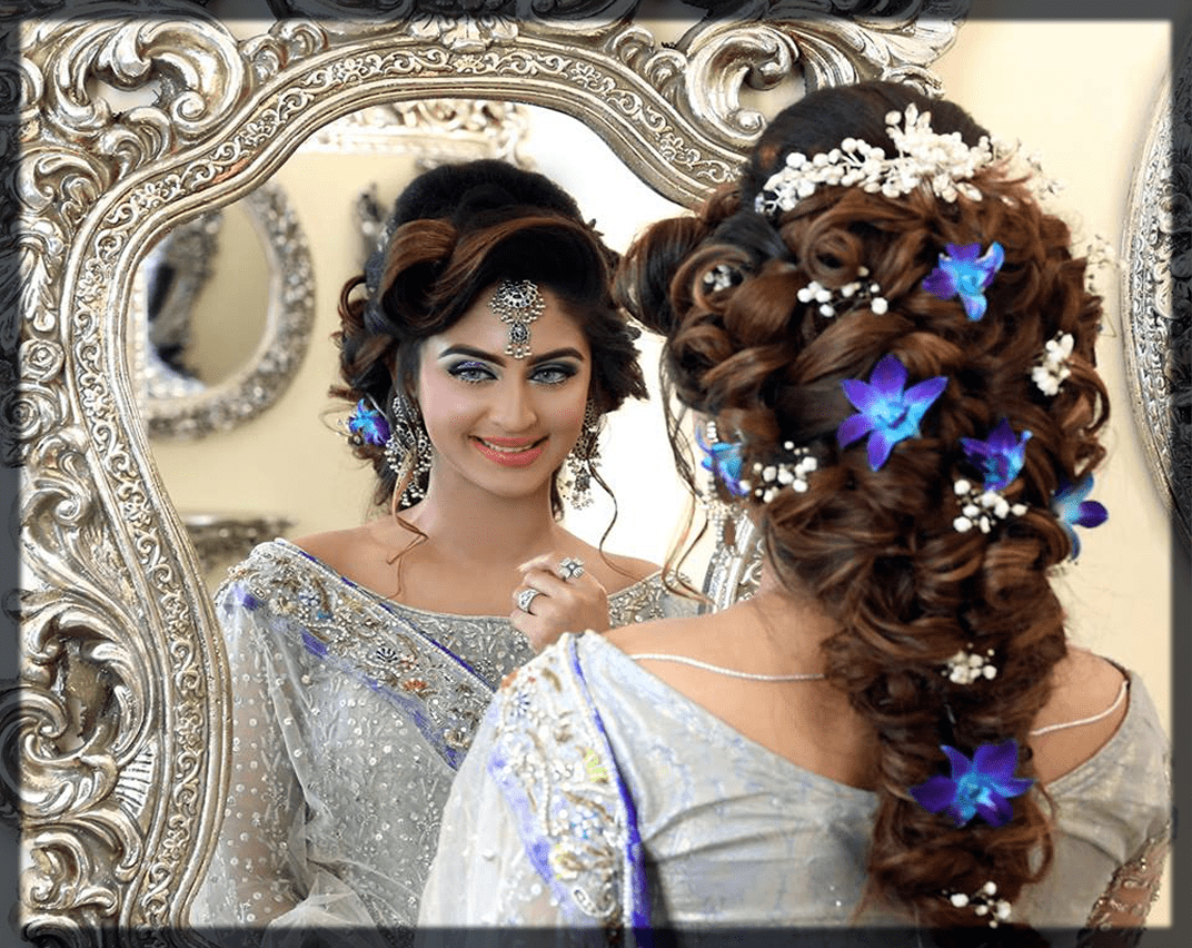 best Pakistani Bridal HairStyles by kashees