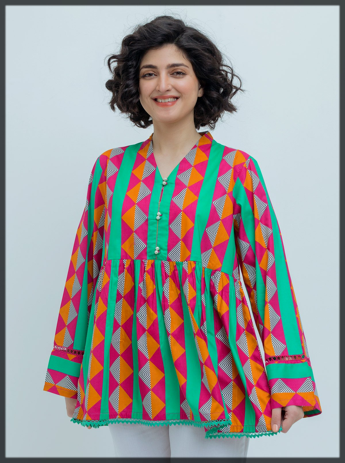 colorfull summer tunic for teens