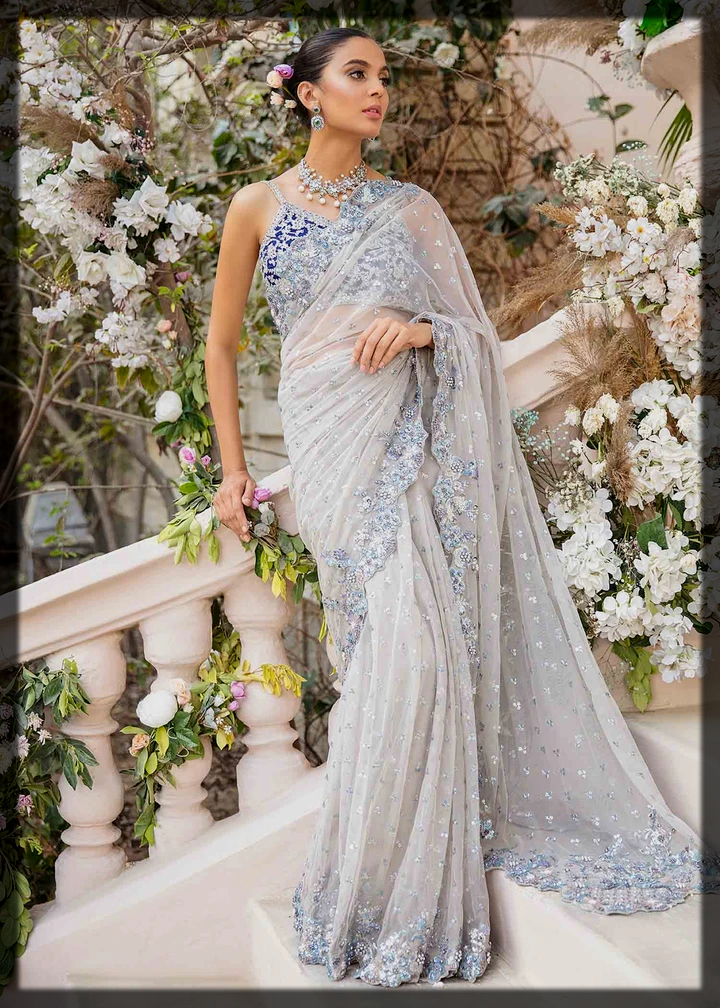 dazzling saree for women