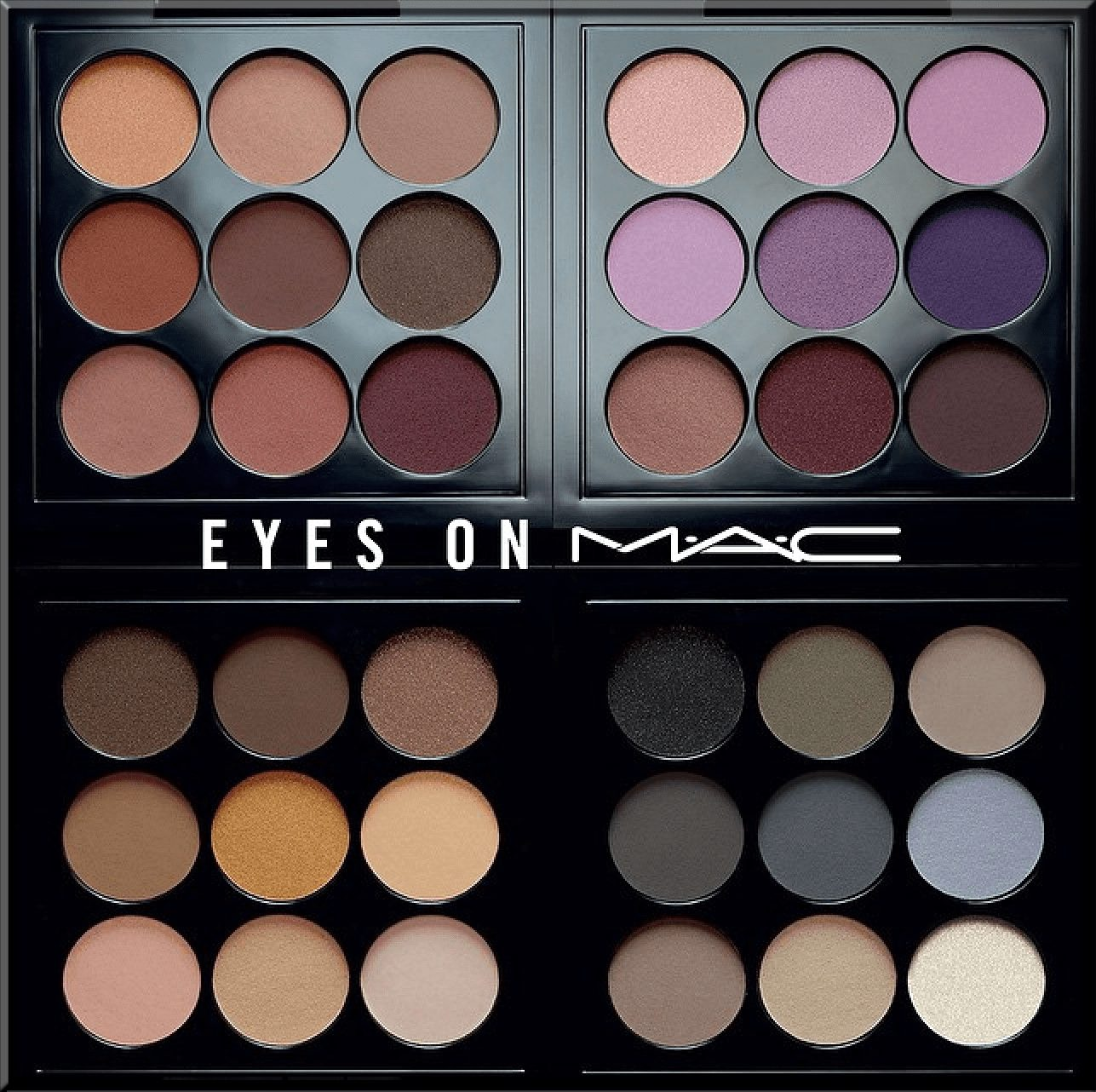 different mac eyeshadows list