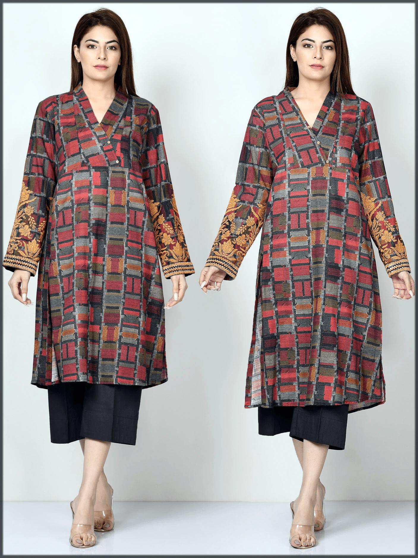 digital printed kurta for women