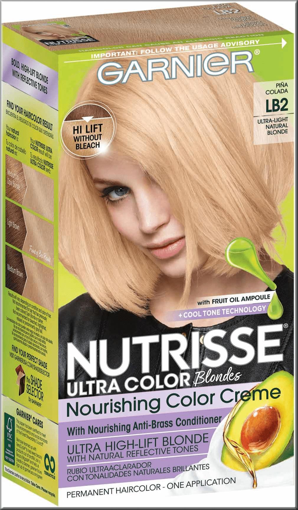 garneir box of hair colour