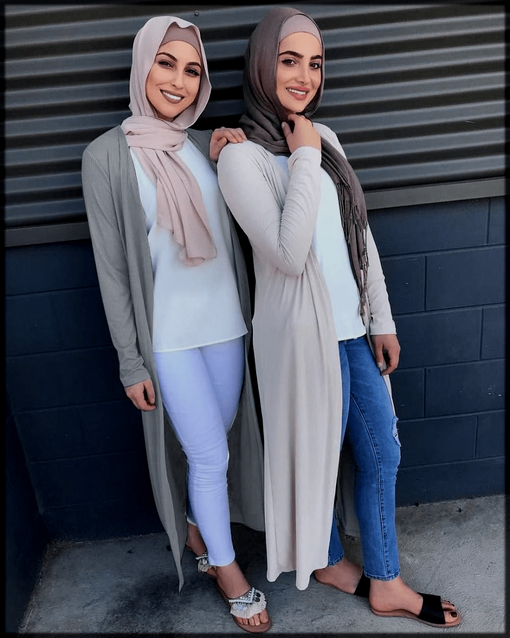 hijjab with jeans styles