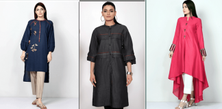 Latest Kurta Designs For Women 2020 [Pakistani Kurta Style Dresses]