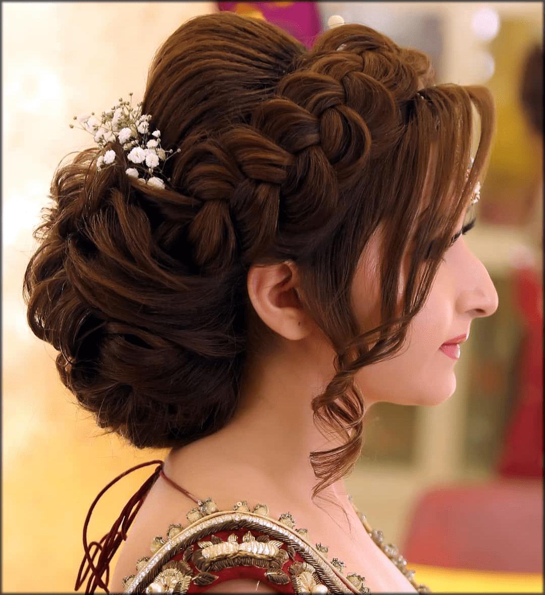 kashees Pakistani Bridal HairStyles