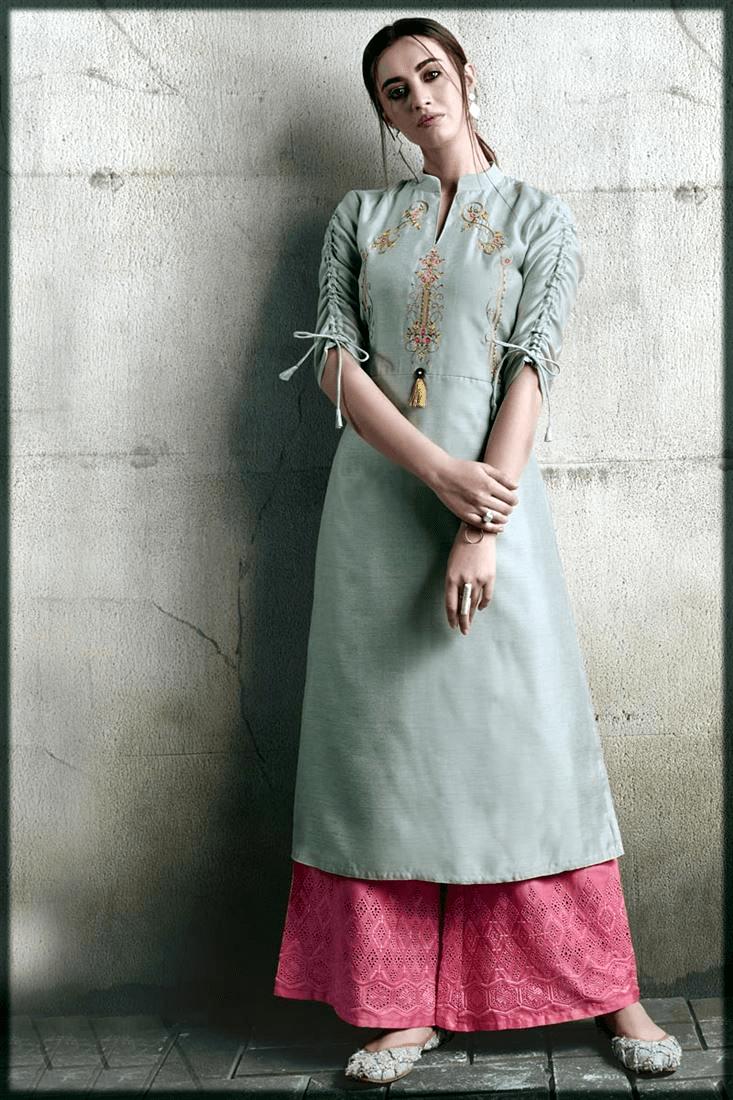 latest Lawn Dresses Stitching Designs