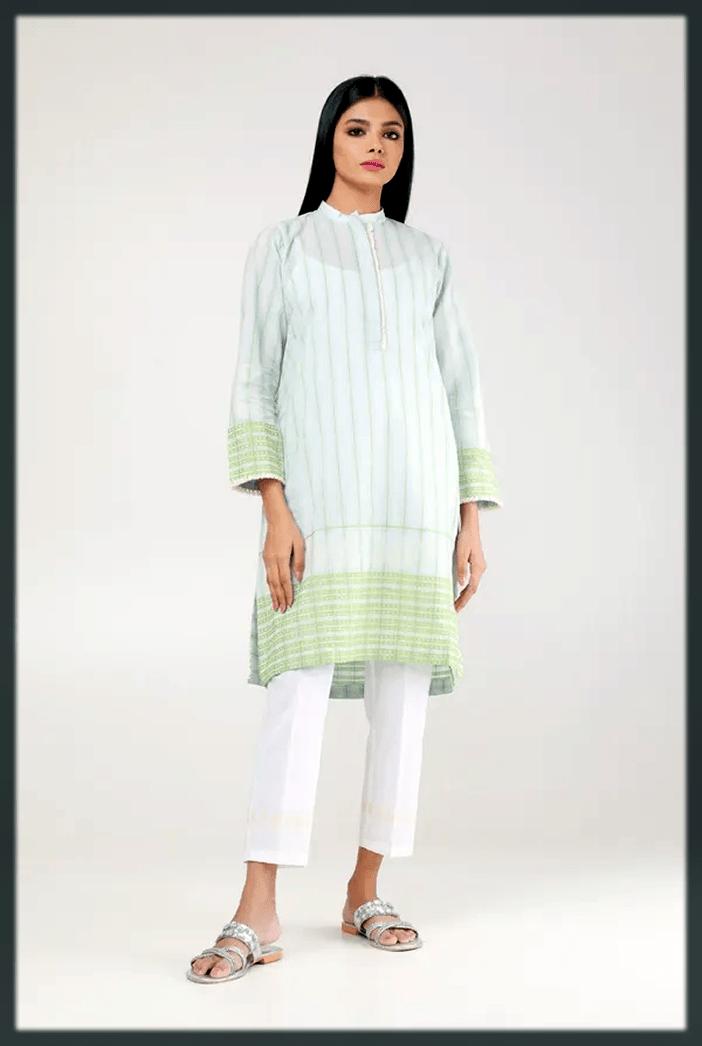 latest and stunning Kurta Designs For Women by khaddi