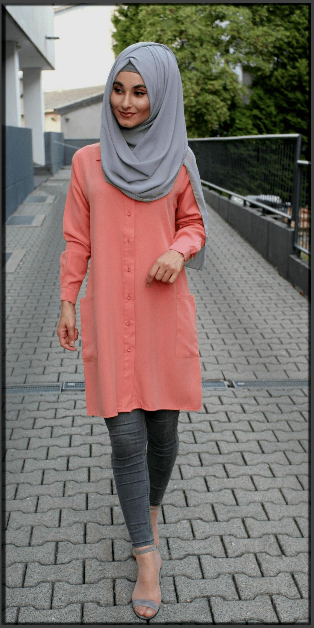 modern turkish hijab style