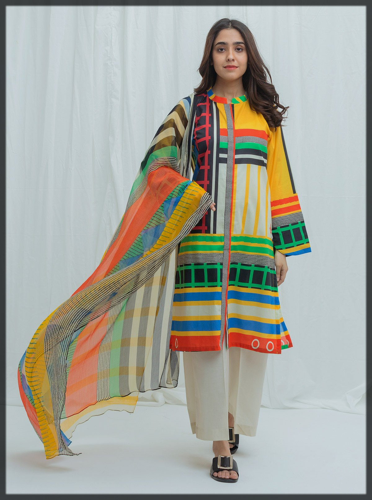 multi printed BeechTree Spring Summer Collection