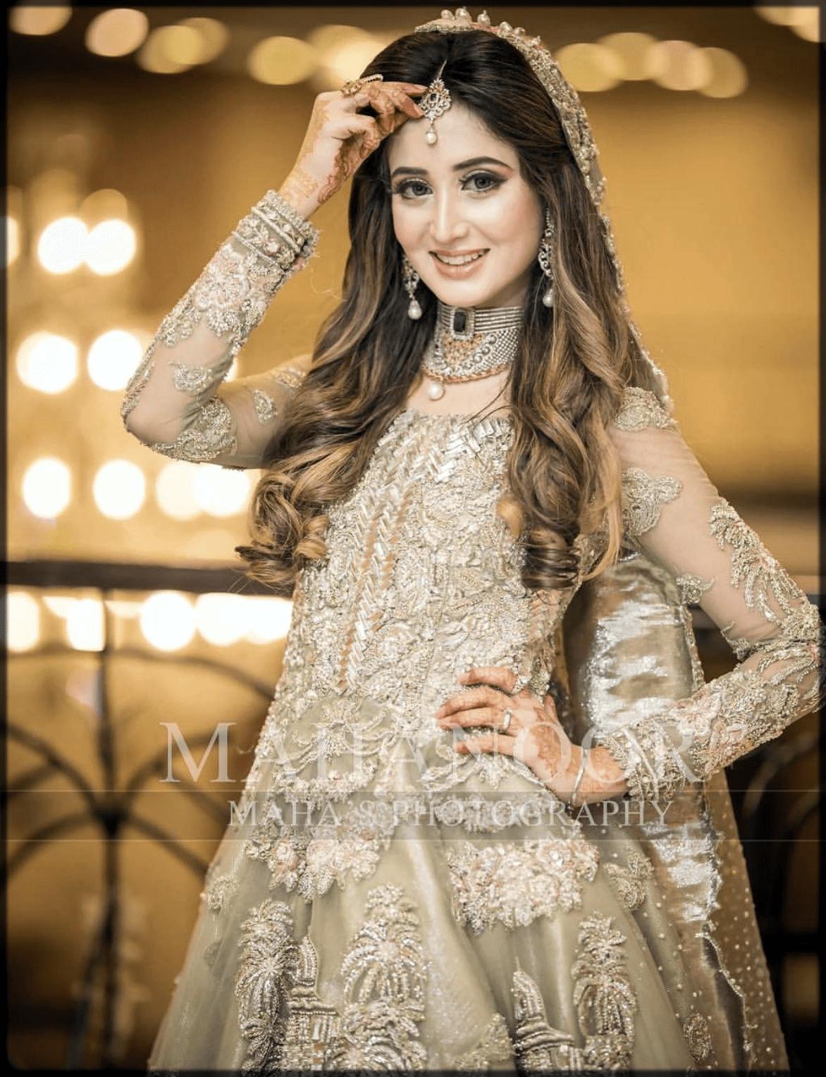 Latest Pakistani Bridal Hairstyles 2021 For Mehndi Barat And Walima