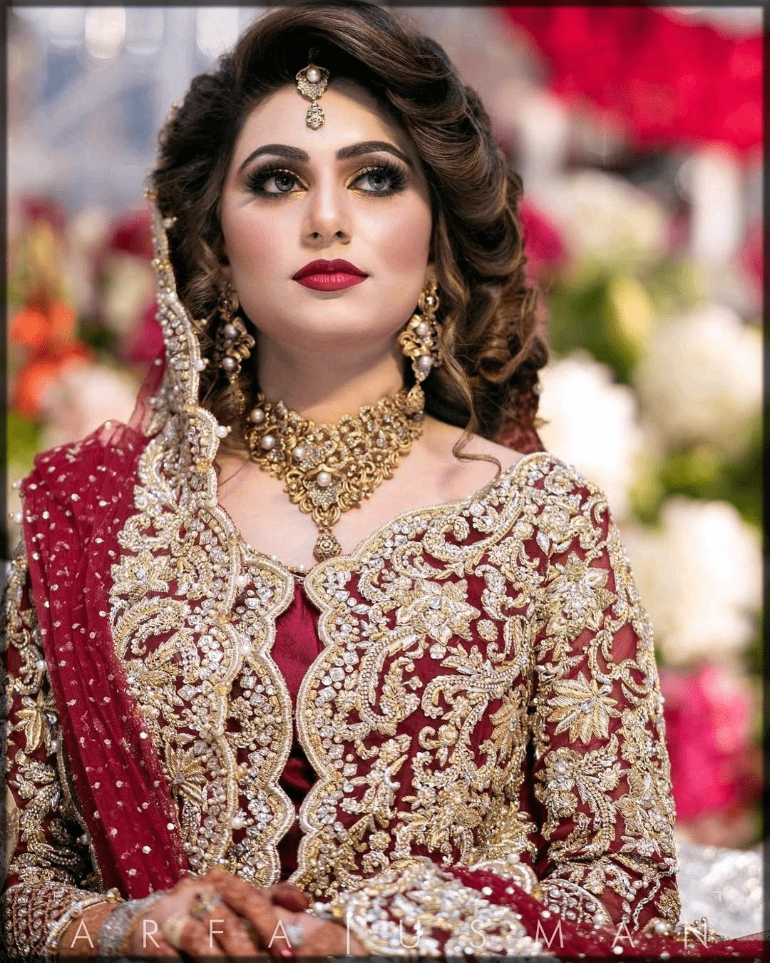 Latest Pakistani Bridal Hairstyles 2020 For Mehndi Barat And Walima