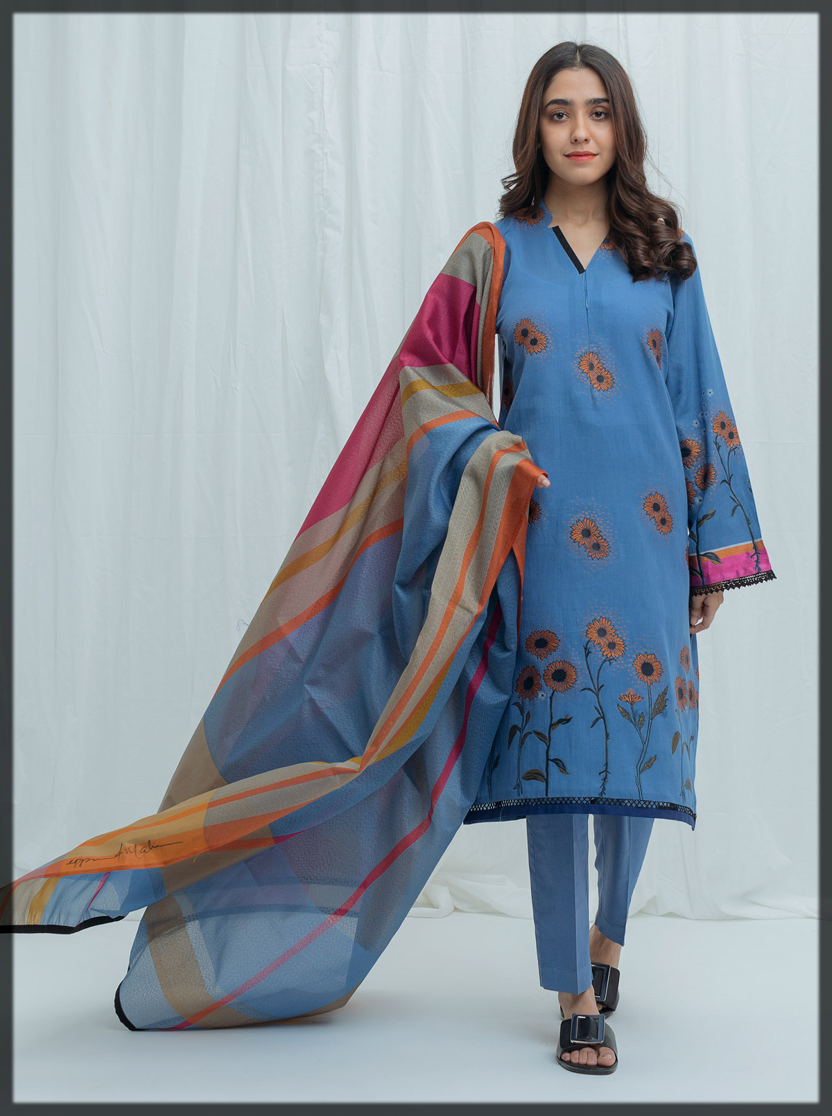 summer jacquard suit for women