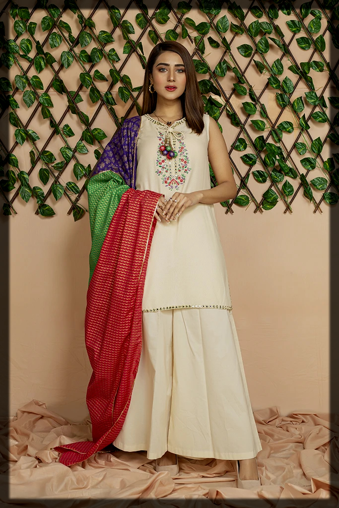 three piece party wear Chinyere Spring Summer Collection