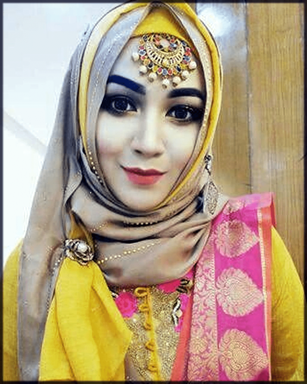 turkish hijjab with tikka