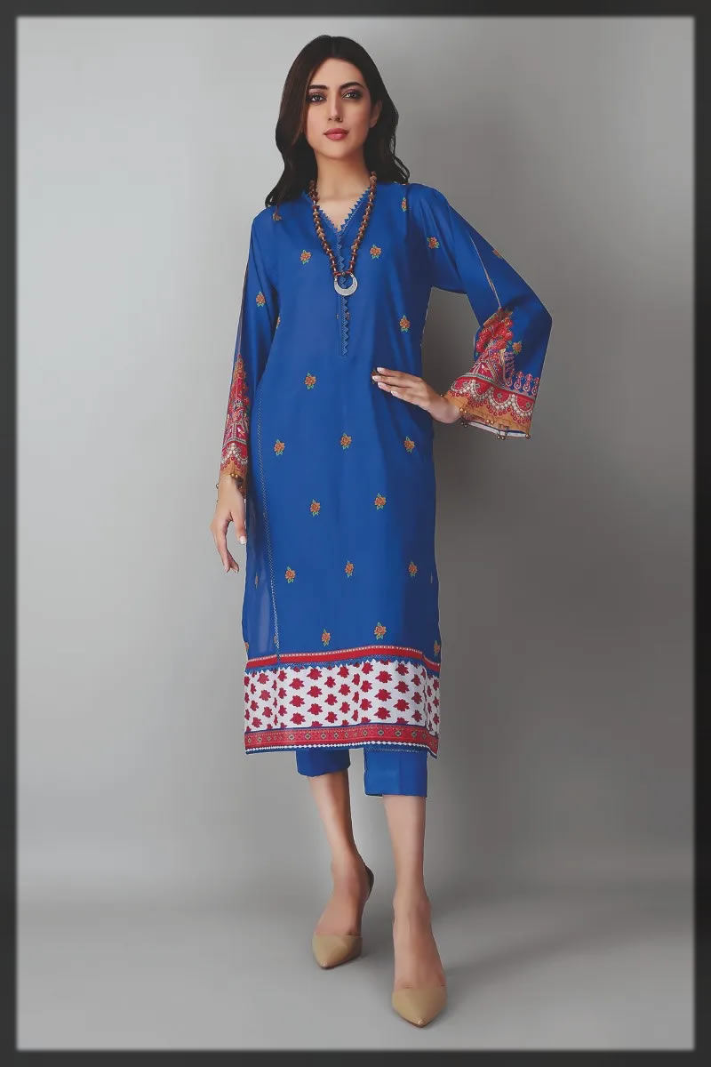 2pc kameez and pants for women