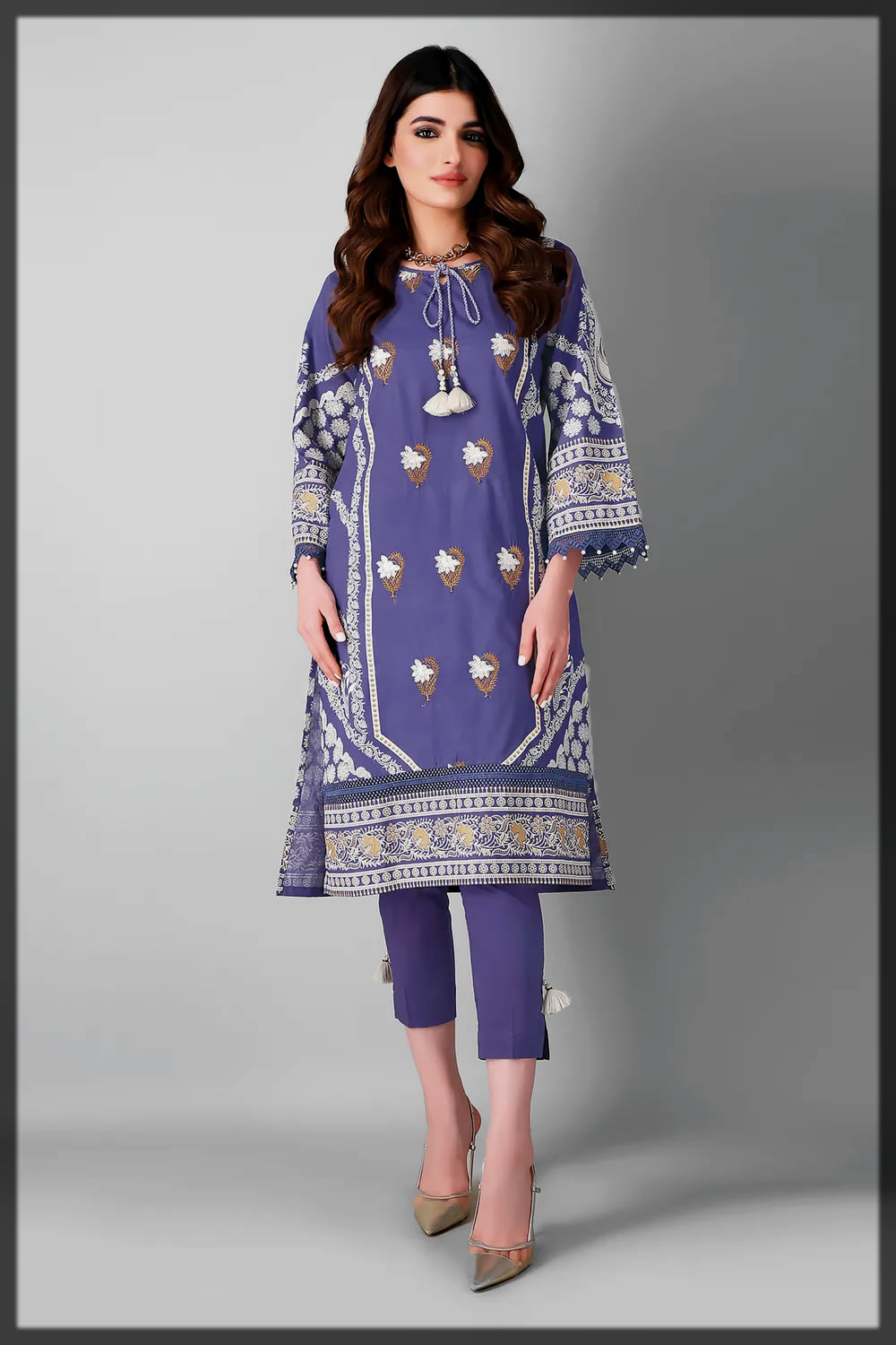 2pc khaadi eid collection for women