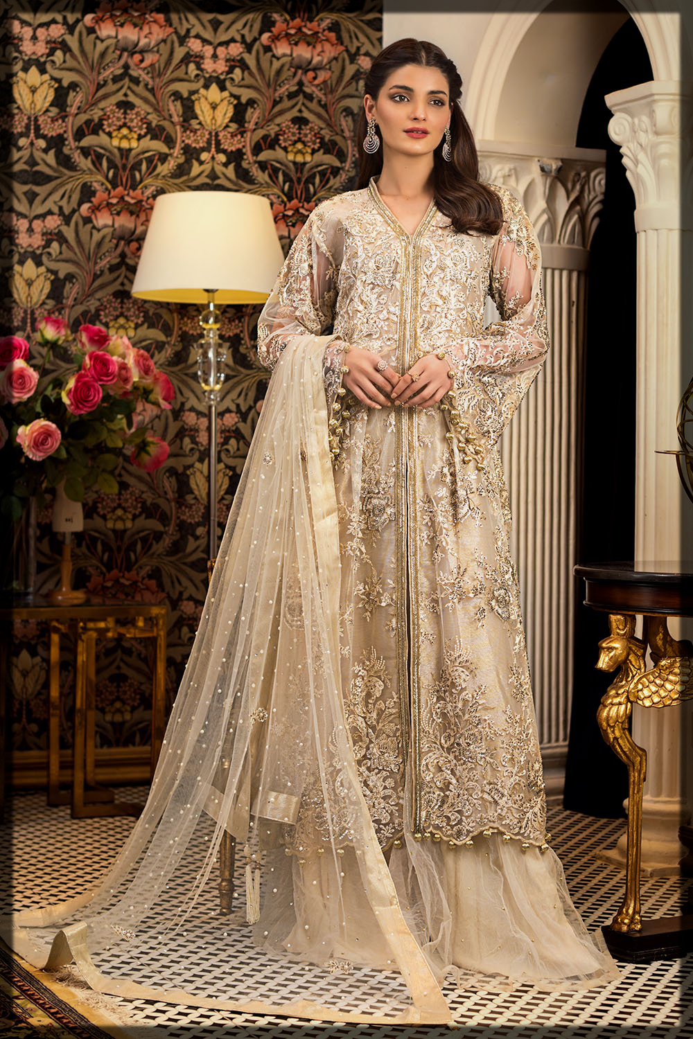 3PC Embroidered Eid Ready-to-Wear Suit