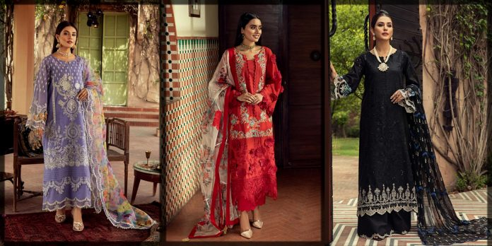 Beautiful Charizma Eid Collection for Women and Young Girls