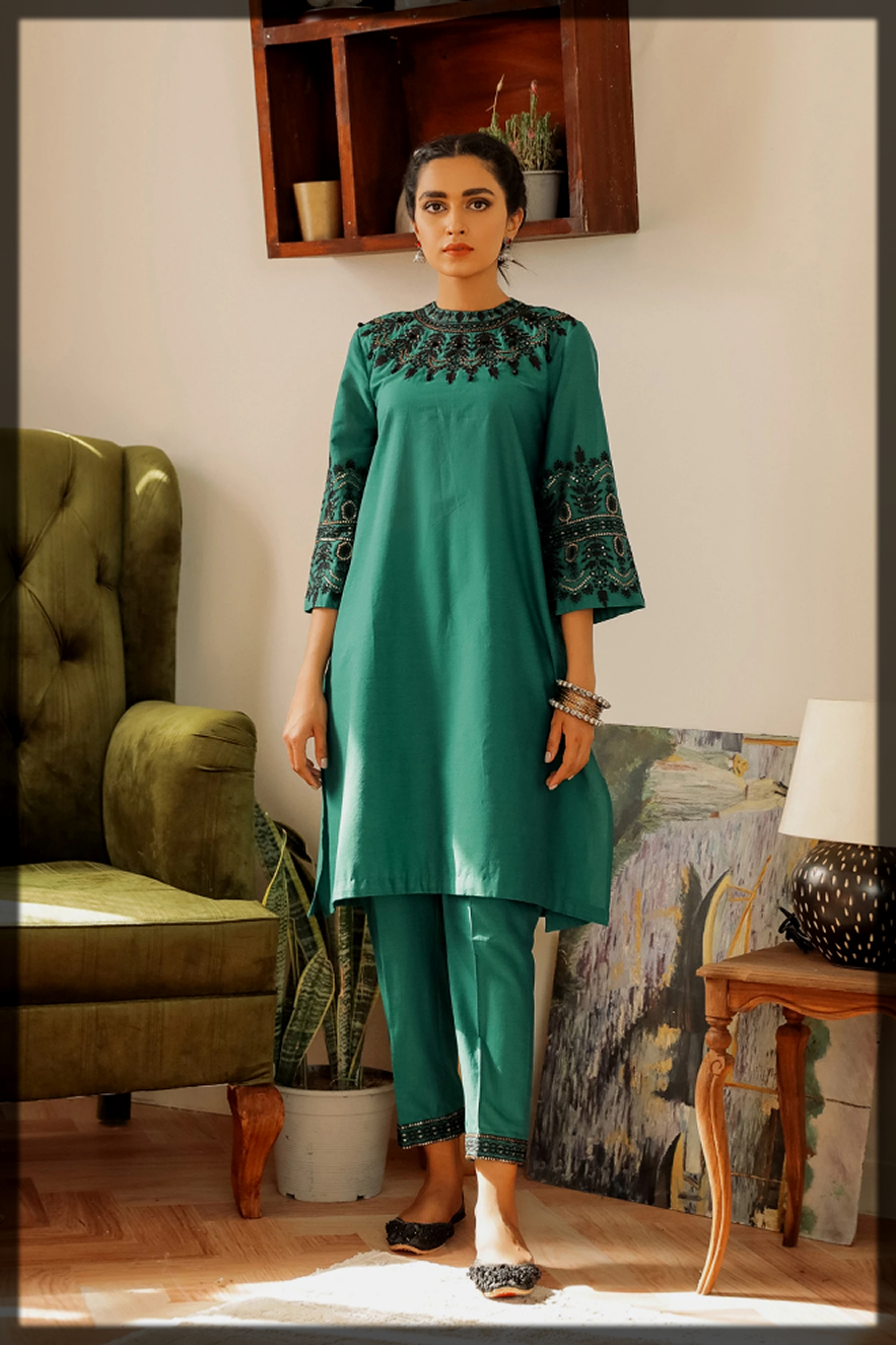 EMBROIDERED Eid SUIT for Women