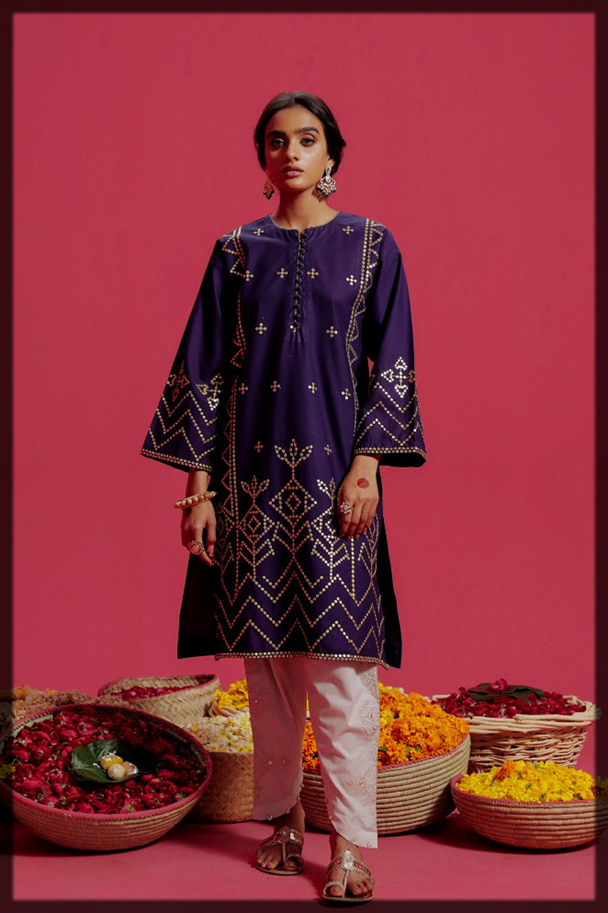 EMBROIDERED SHIRT for eid by EBO