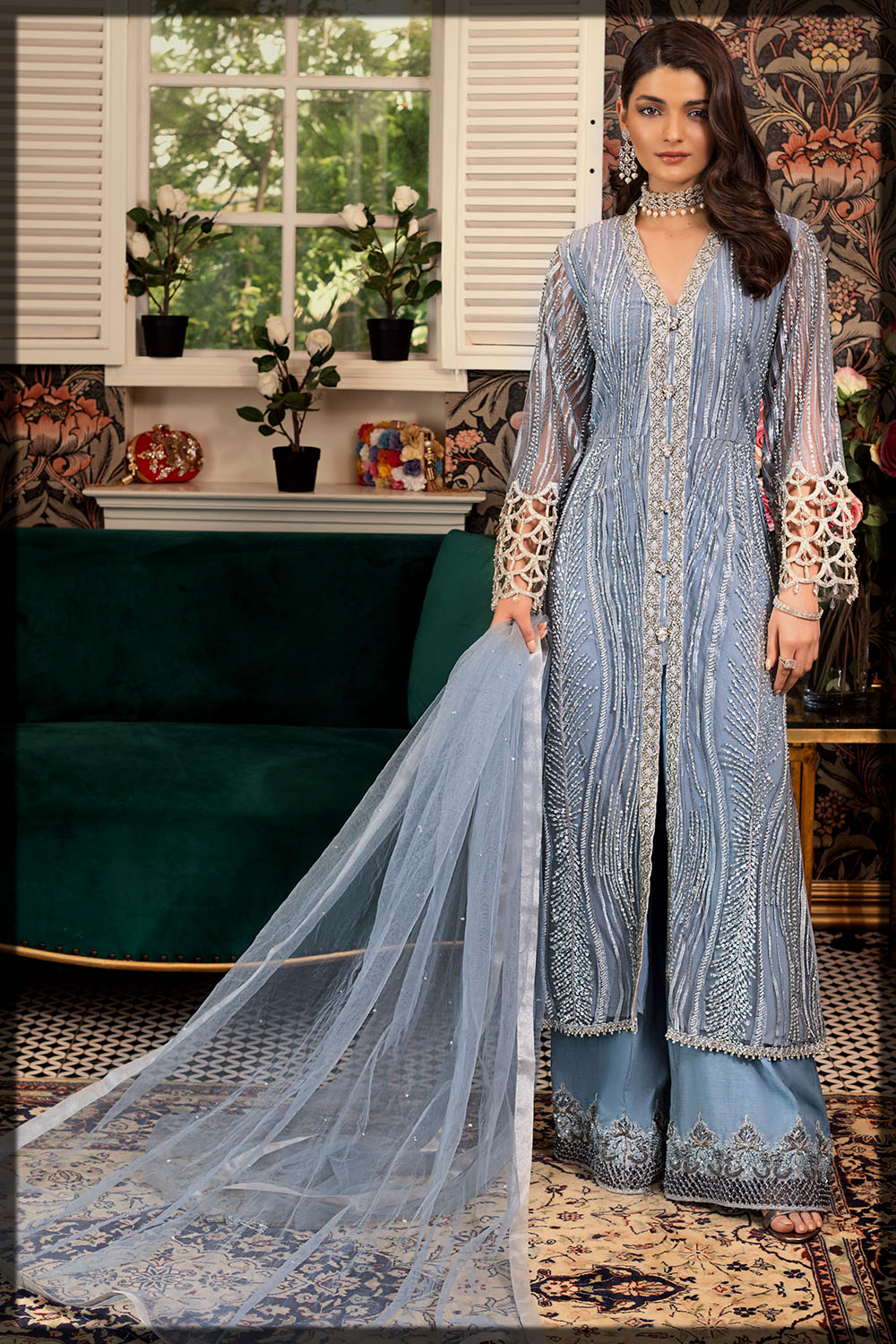 Embroidered Eid Ready-to-Wear Suit