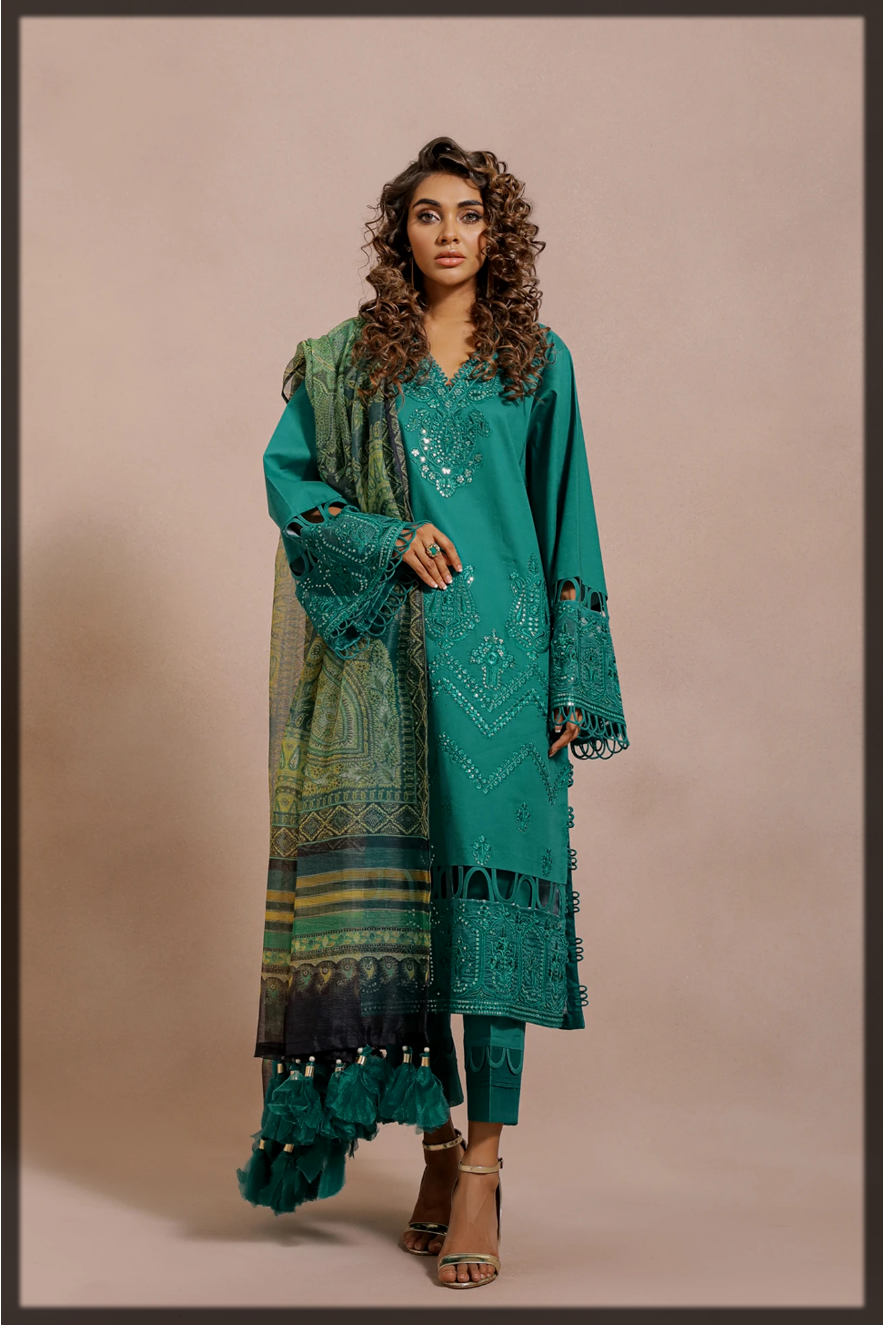 Ethnic by Outfitters Unstitched Dresses