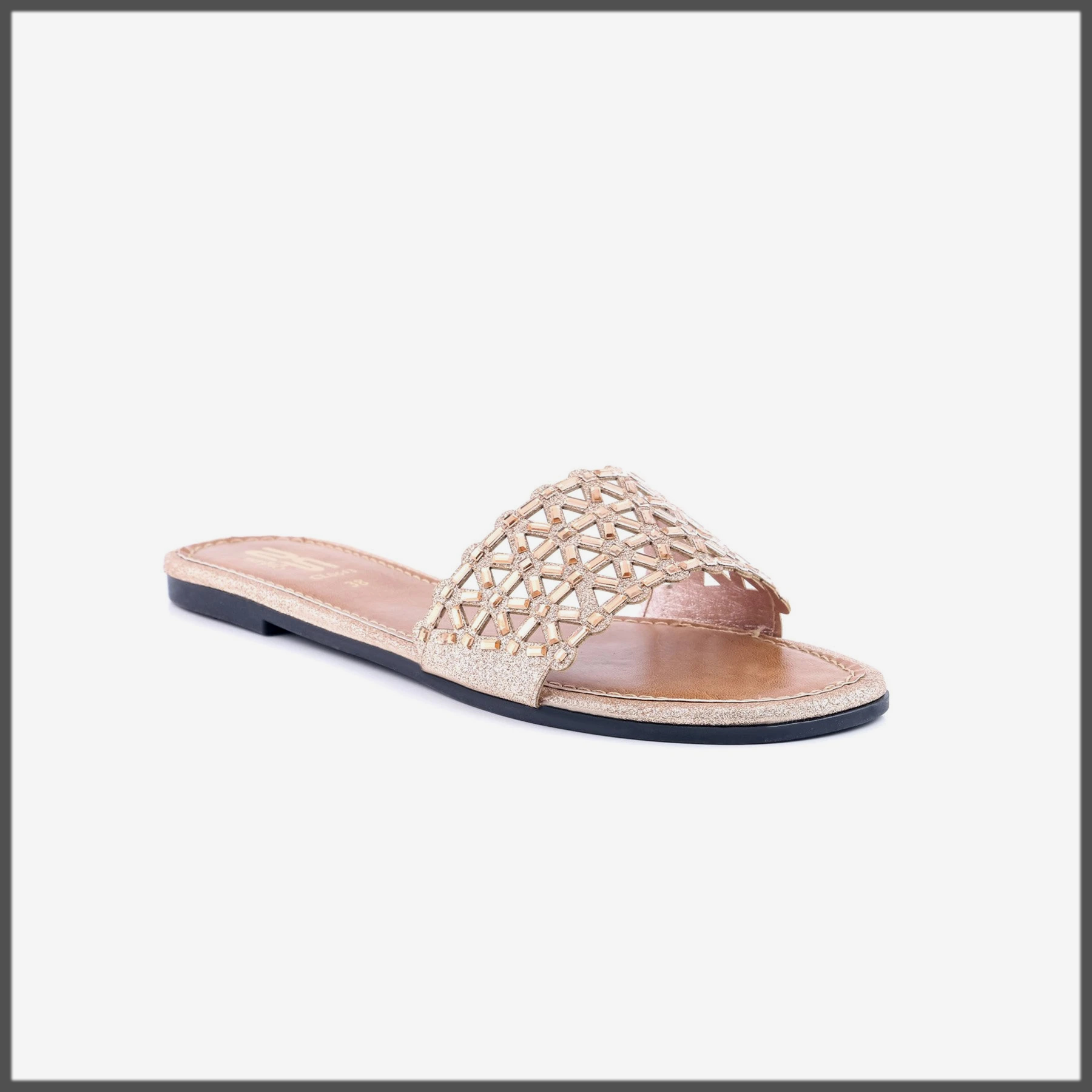 Fawn Color Casual Chappal for women