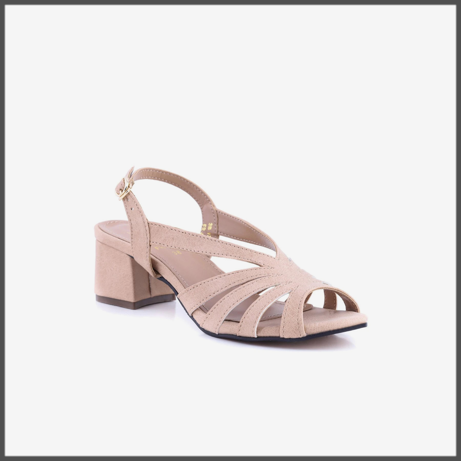 Fawn Color Sandals for Eid