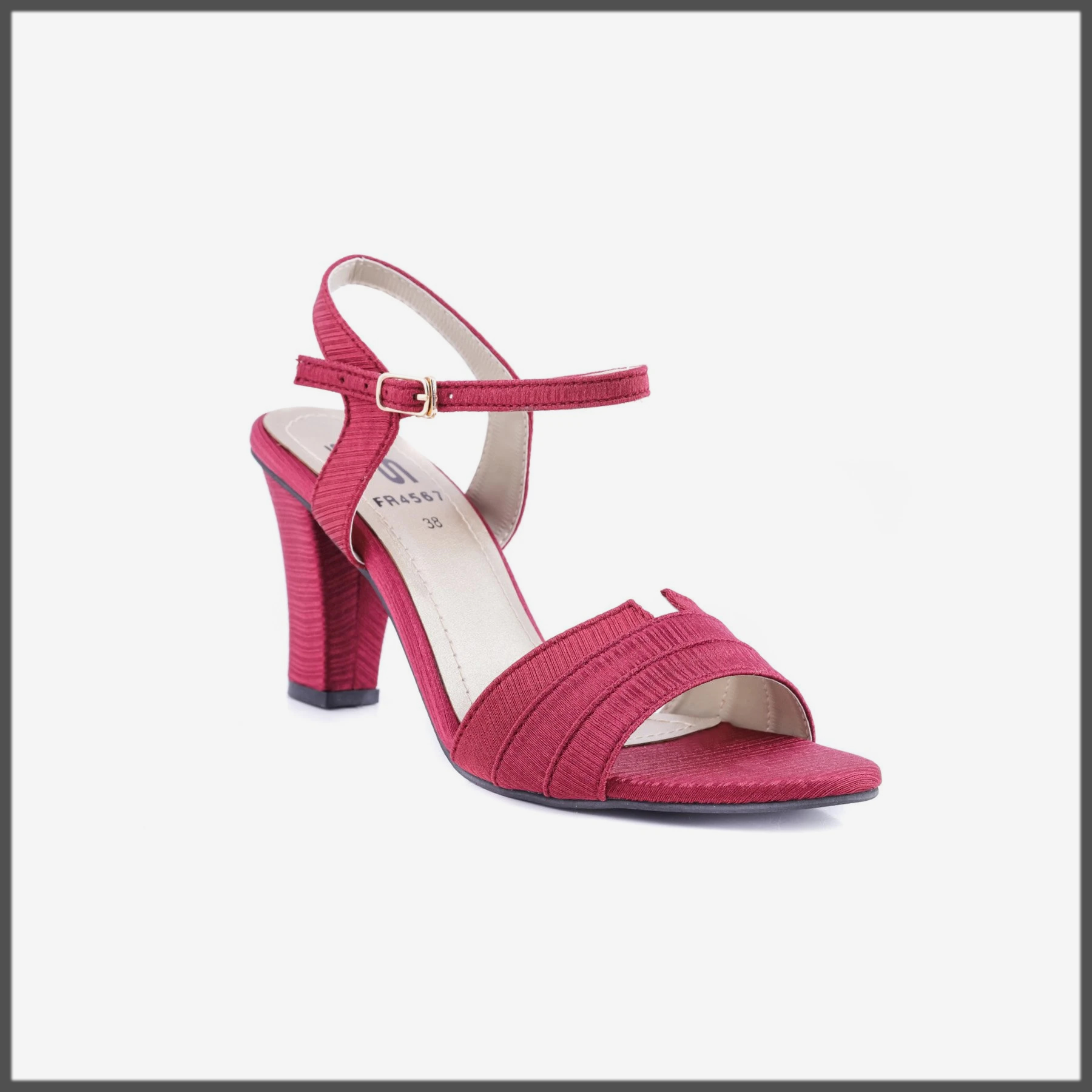 Maroon Color Formal Sandal for women