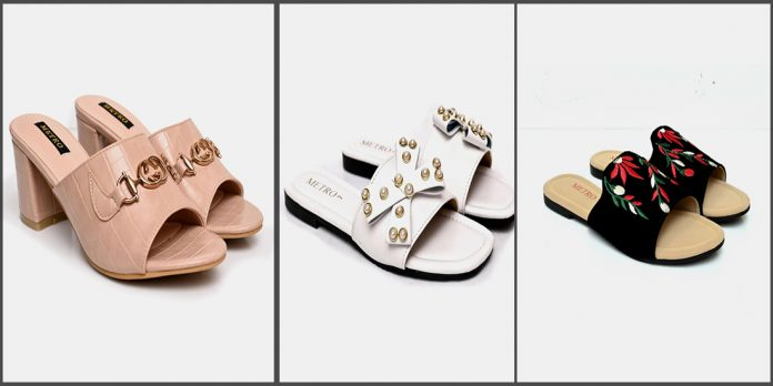 Metro Shoes Eid Collection for women and young girls
