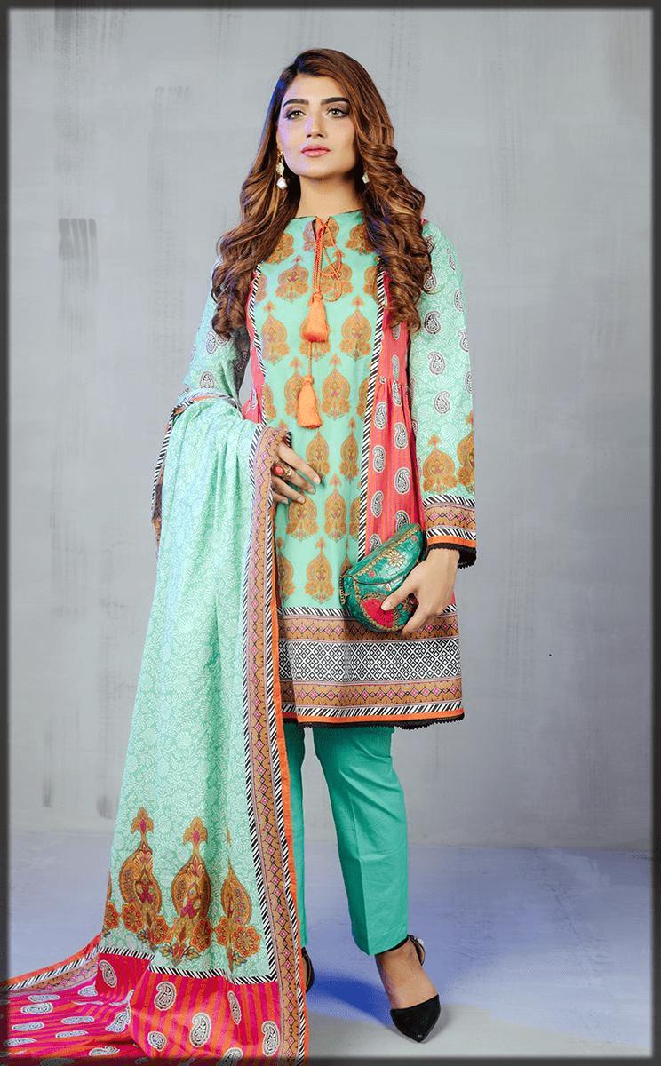 Shirt and dupatta stunning dress for eid