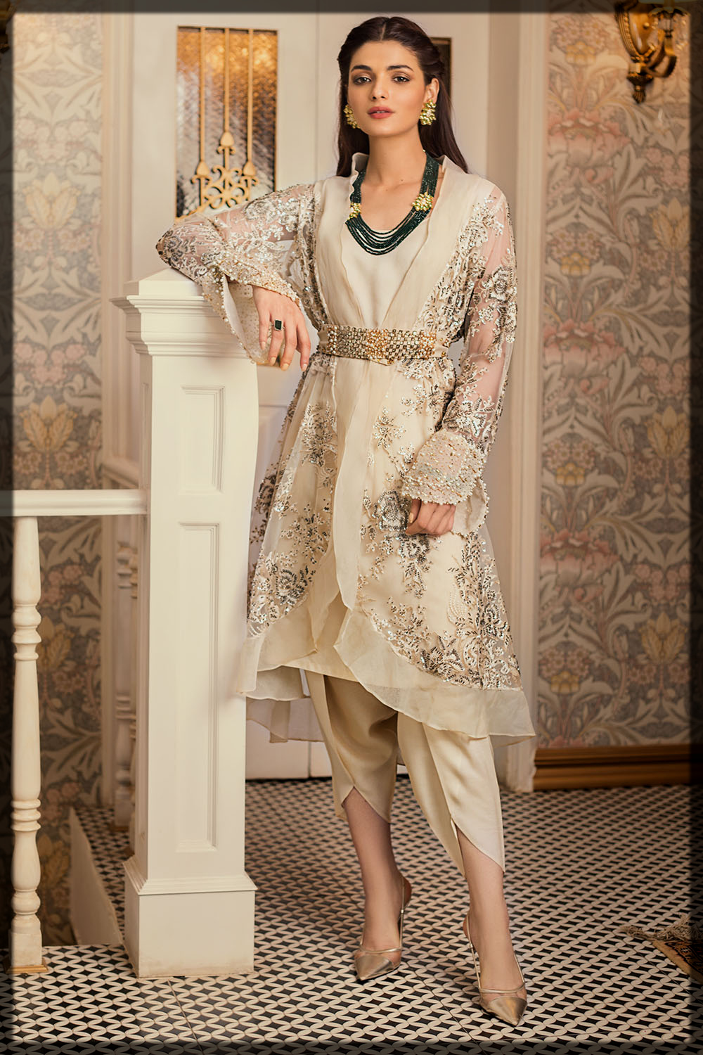 Stitched Embroidered Gul Ahmed Eid Collection
