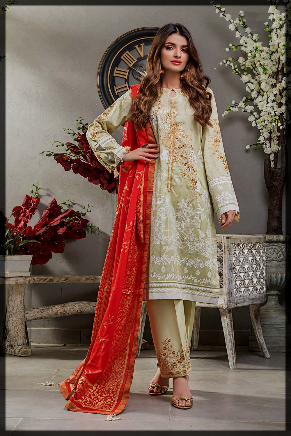 appealing Gul Ahmed Festive Eid Collection for women
