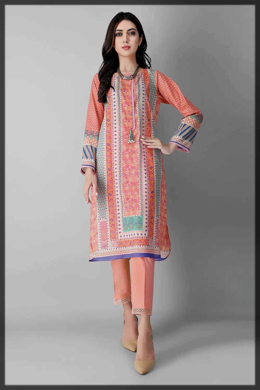 appealing summer lawn suit for women