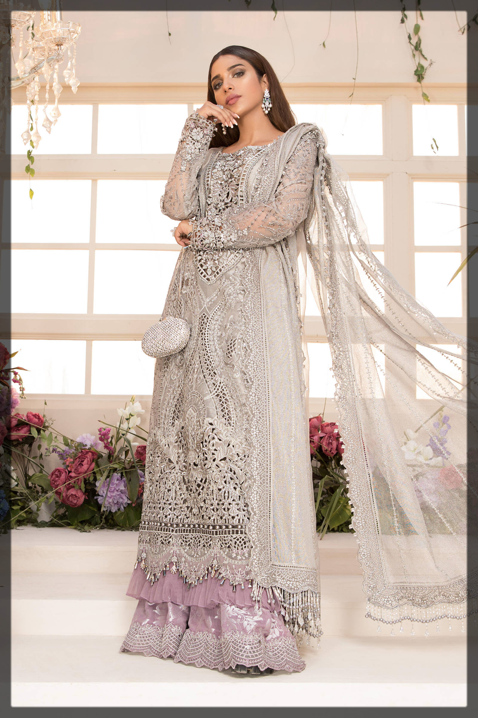 ash grey eid outfit