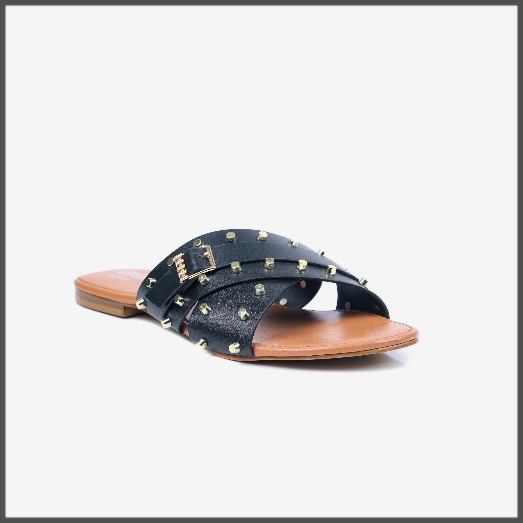 black fancy eid footwear