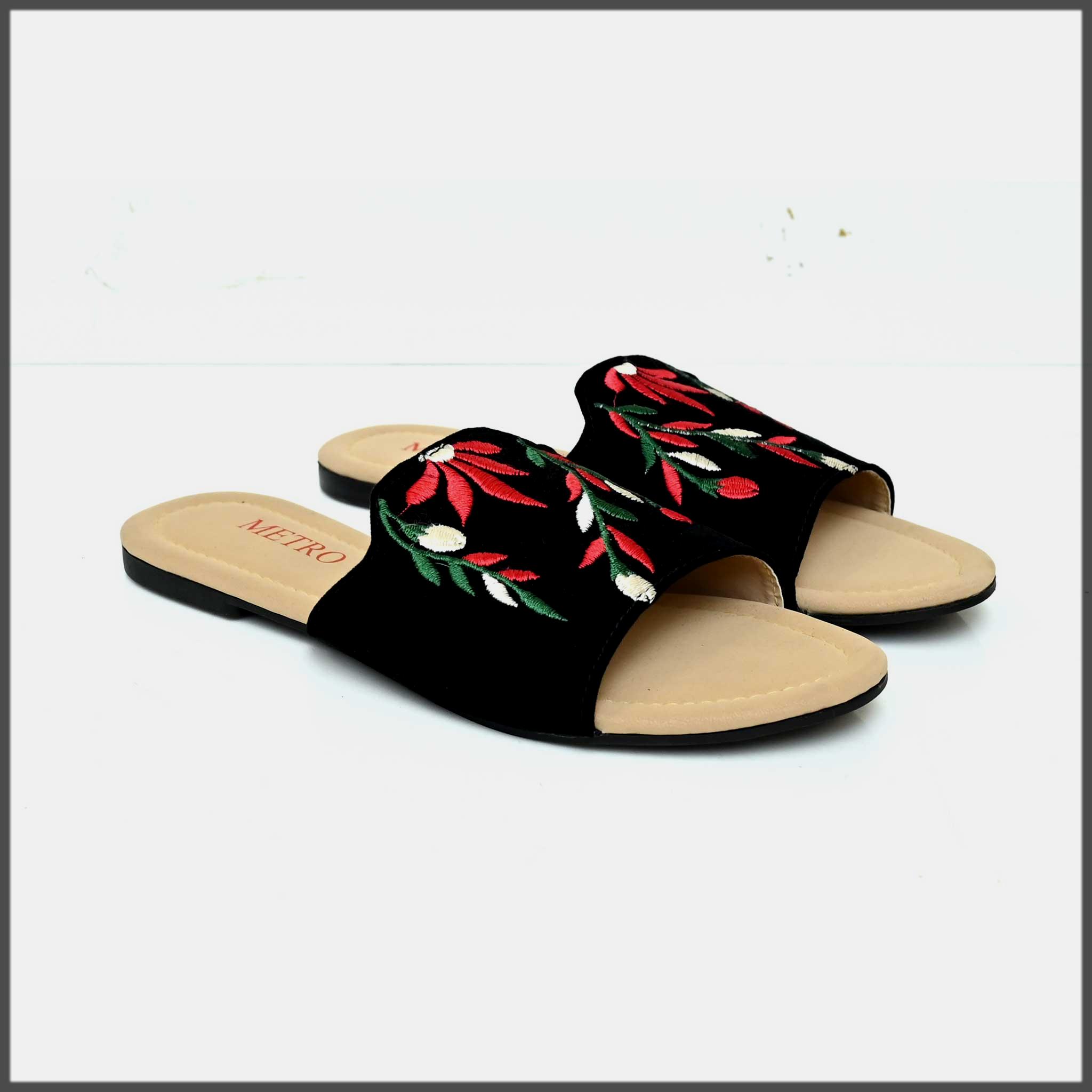black summer eid shoes for women