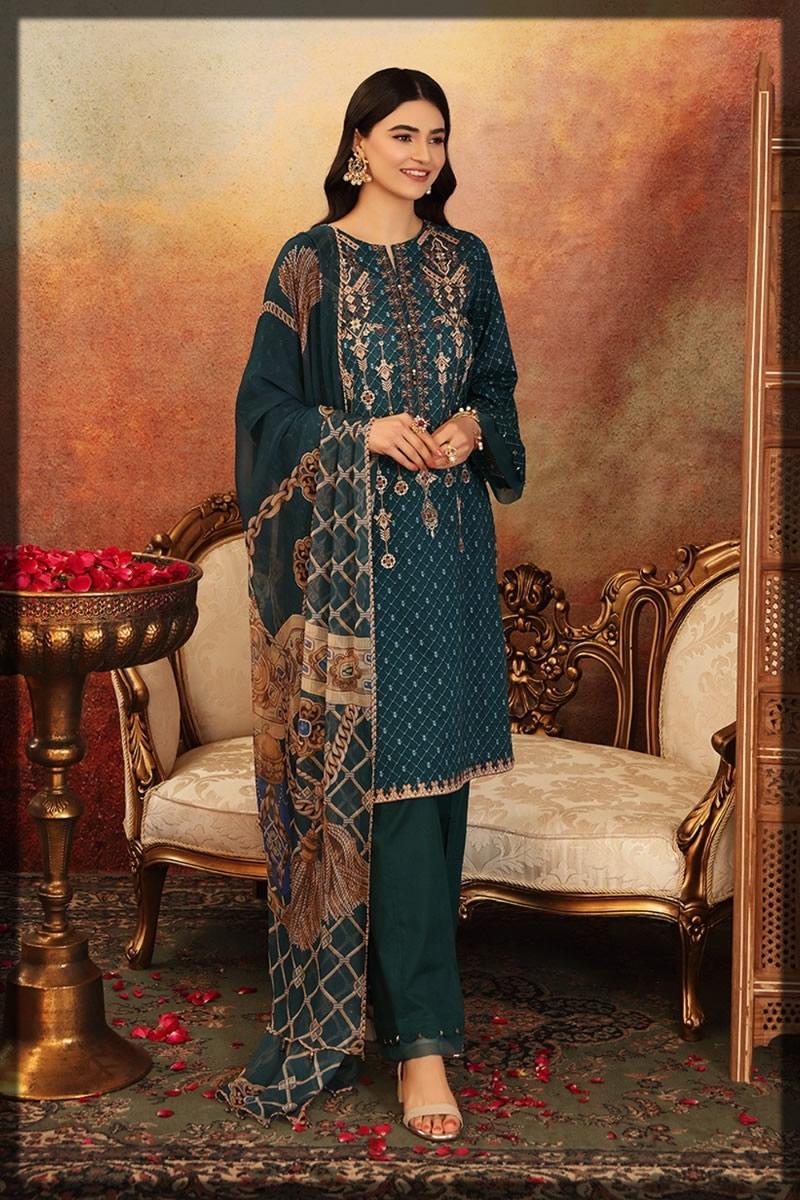 Nishat linen eid collection