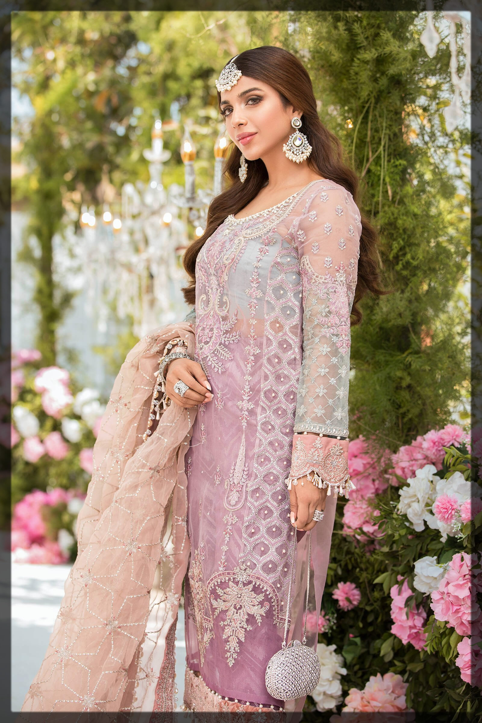 charming lilac eid outfit