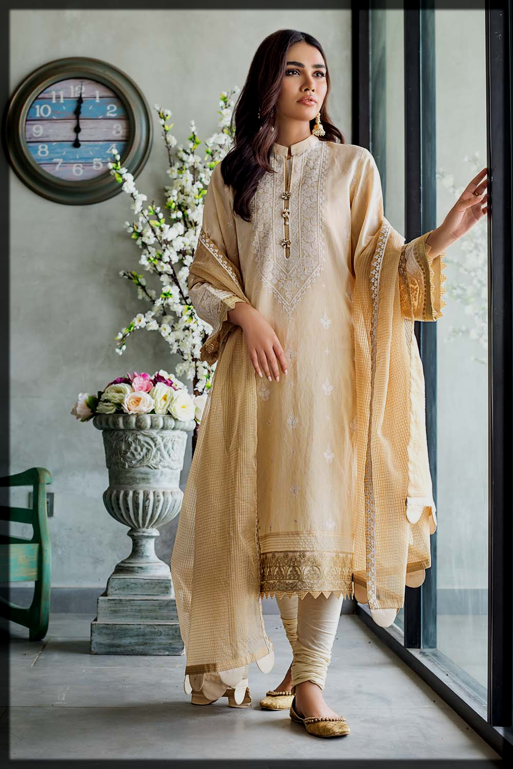 chic eid suit for women and young girls