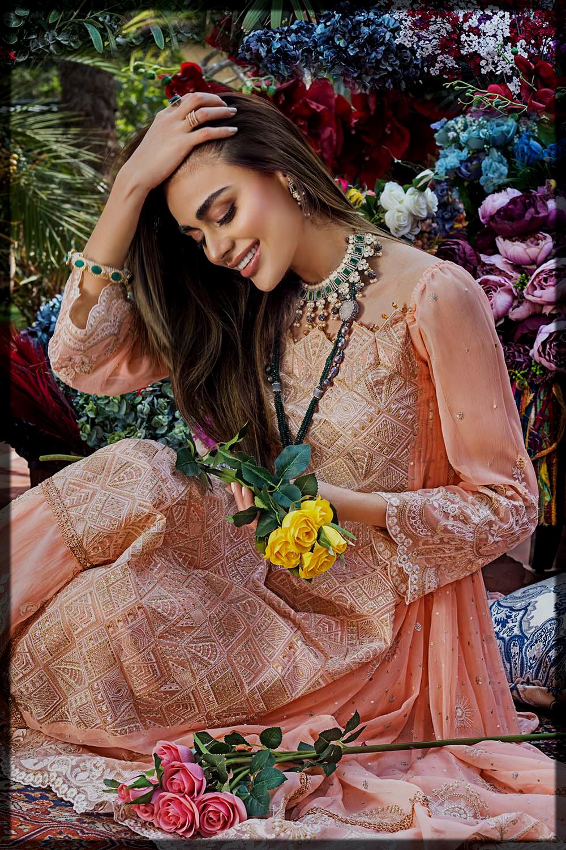 chic eid suit for women