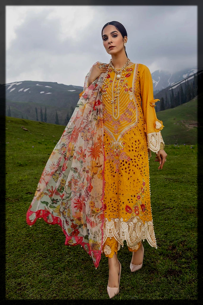 classical Unstitched Eid Collection