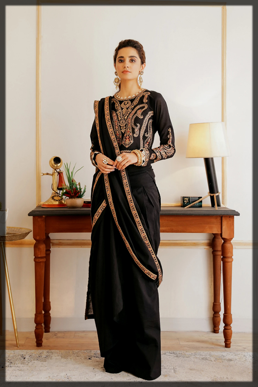 classical summer eid dsaree by ethnic